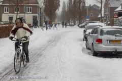 Sneeuw in februari 2021