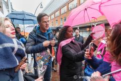 Campagnebezoek Mark Rutte aan Zwolle